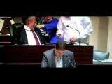 Скандальное выступление Лорана Луи, депутата бельгийского парламента (17-01-2013)