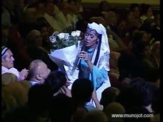 "Узбекская музыка и танец ""Муножот"", произведение А. Наваи"